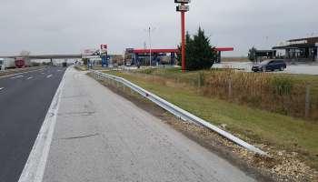 """Обезопасяване на бензиностанция ЕКО на автомагистрала """"Тракия"""""""