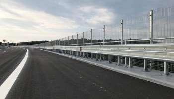 Мостът при км 20 на автомагистрала Тракия, обезопасен от КМВ-системи за пътна сигурност