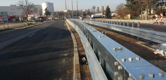 За пръв път в България е монтирана ограничителна система за пътища H4bW4